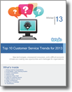 Customer Service Trends  2013 Whitepaper