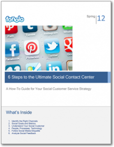 6 Steps to the Ultimate Social Contact Center