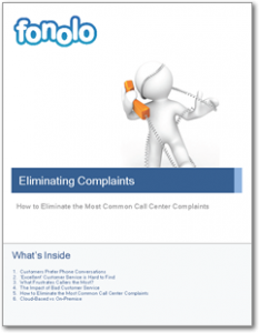 Eliminating Top Call Center Complaints