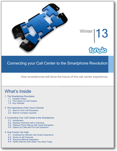 Connecting your Call Center to the Smartphone Revolution