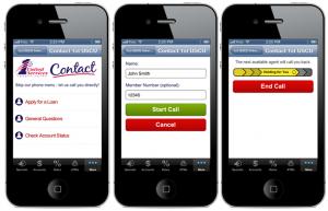 Fig 3 - Mobile App