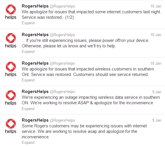 Rogers Tweets
