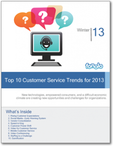 Top 10 Customer Service Trends for 2013
