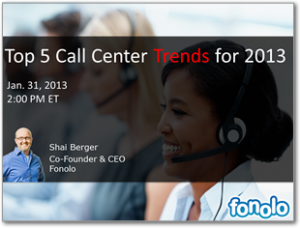 Top 5 Call Center Trends