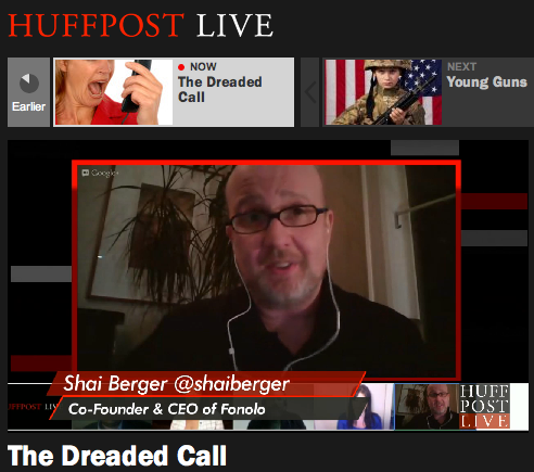 HuffPost Live - The Dreaded Call