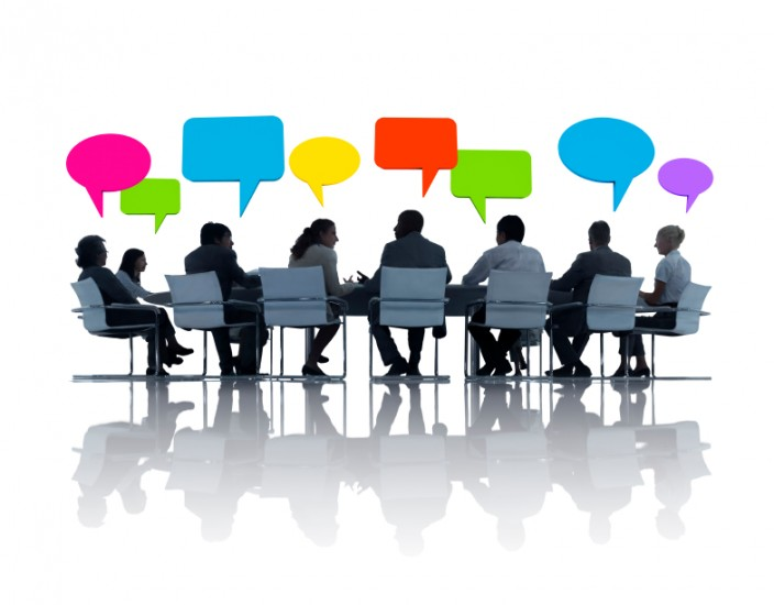 discuss the role of electronic media in communication