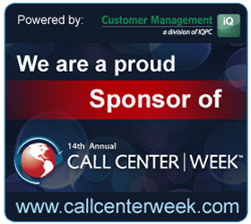 Call Center Week Sponsor