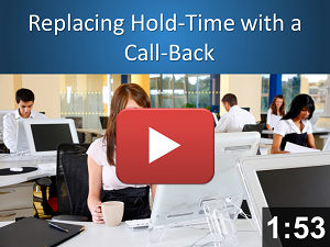 Replace hold-time with a call-back
