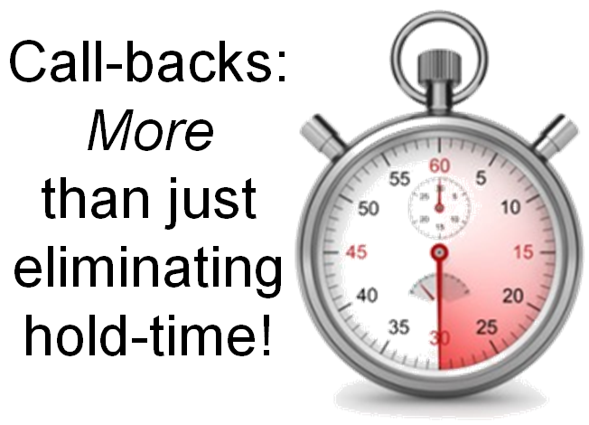 Call-Back Solutions to Eliminate Hold-Time