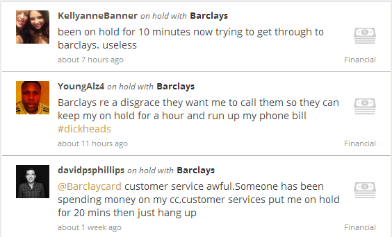 On Hold With Barclays