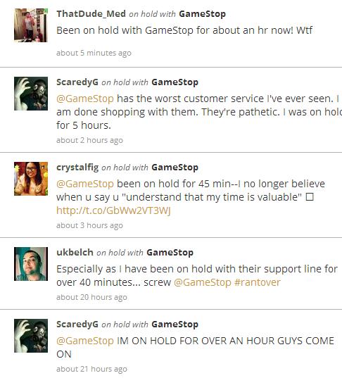 GameStop Complaints