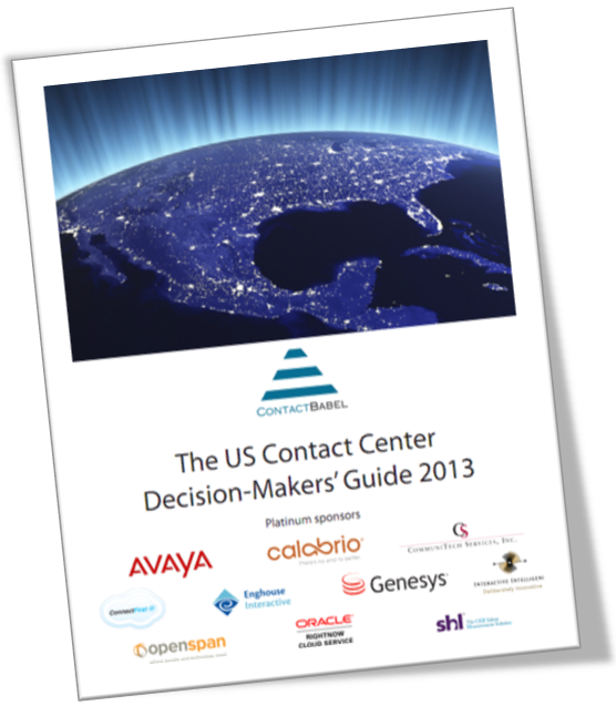 The Contact Center Decision Maker's Guide