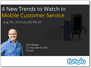 4 New Trends to Watch in Mobile Customer Service