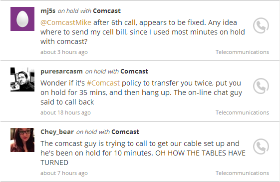 On Hold with Comcast