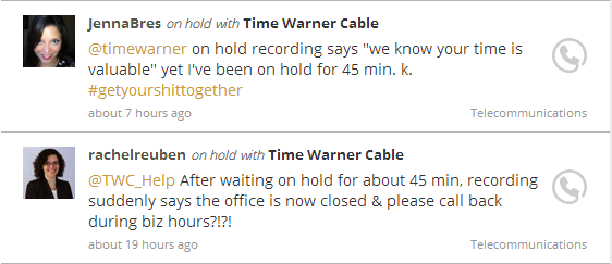 On Hold with TWC