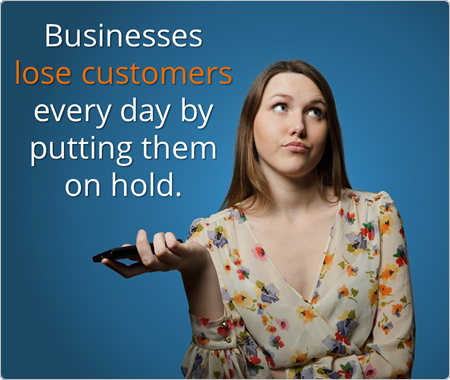 Eliminating hold time improves the customer experience (CX)