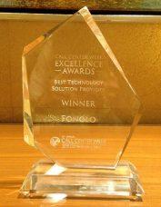 Best Technology Solution Provider Award