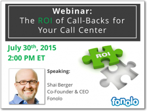 The ROI of Call-Backs for Your Call Center