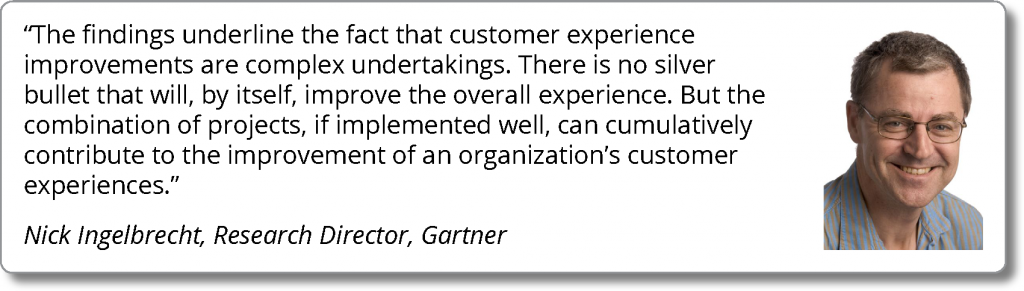 The Customer Experience Require Investment