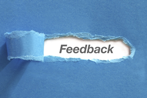 Find creative ways to ask for feedback