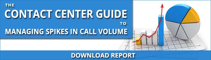 The Contact Center Guide to Managing Spikes in Call Volume - Banner