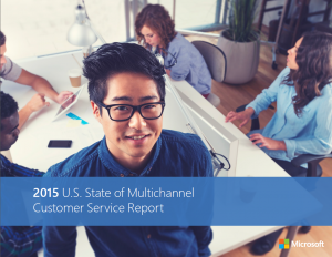 cover - State of Multichannel Cust Serv - Microsoft