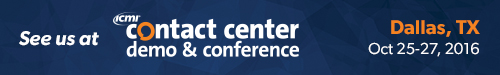 ICMI's Contact Center Demo and Conference