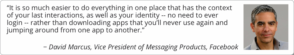 David Marcus Quote