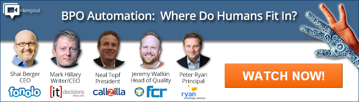 BPO Automation: Where Do Humans Fit In?