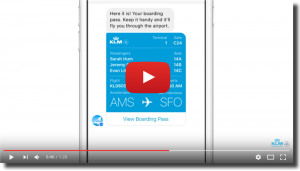 KLM Using Facebook Messenger
