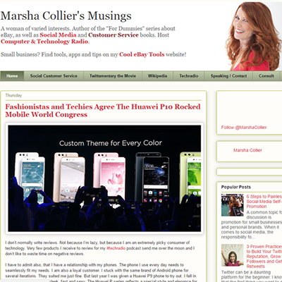 Marsha Collier Customer Service Blog