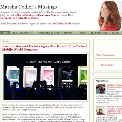 Marsha Collier Customer Service Blog