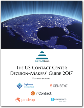 The US Contact Center Decision-Makers' Guide