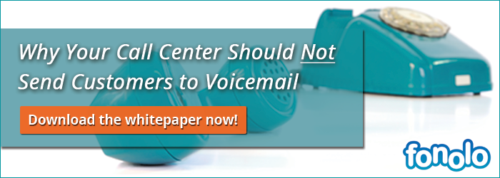 Why Your Call Center Should Not Send Customers to Voicemail