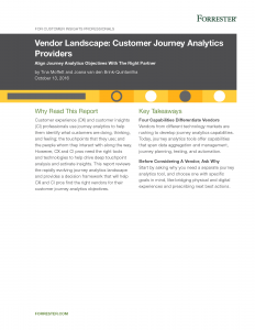 Customer Journey Analytics Providers