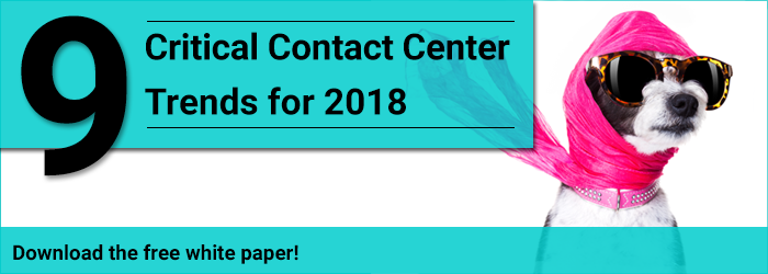 9 Critical Contact Center Trends for 2018