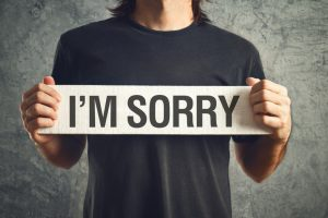 Mitigate the Problem with an Apology
