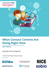 What Contact Centers Are Doing Right Now