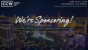 Catch Fonolo at the 19th Annual Customer Contact Week in Las Vegas