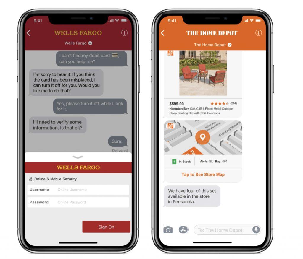 Apple Biz Chat - Custom Features