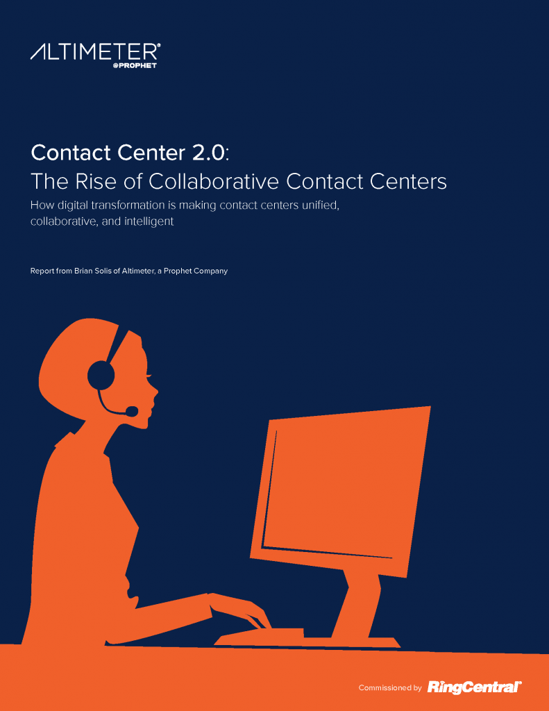 Contact Center 2.0 The Rise of Collaborative Contact Centers