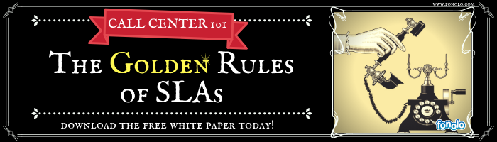 Call Center 101 - The Golden Rules of SLAs