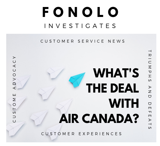 what's the deal with air canada's customer service