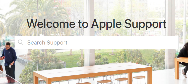Apple Website Customer Service