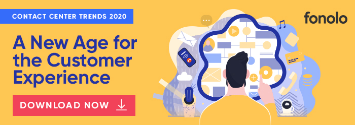 Contact Center Trends for 2020 Industry Guide by Fonolo