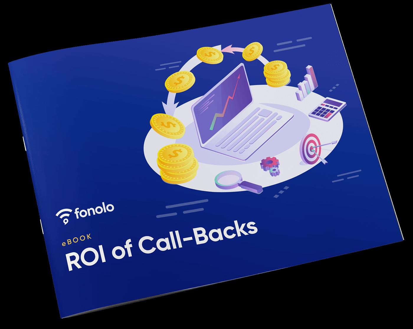 ROI of Call-Backs eBook image