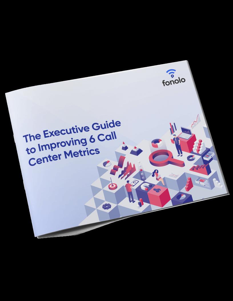 executive guide to metrics mock-up