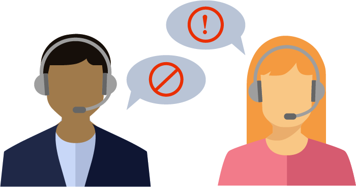 The 9 Worst Phrases Contact Center Agents Say to Customers